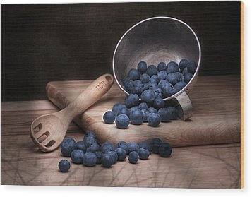 Fruit Cup Still Life Wood Print by Tom Mc Nemar