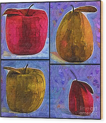Fruit Wood Print by Kirt Tisdale