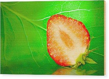 Fruit Of Rainy Summer Wood Print by Janne Mankinen