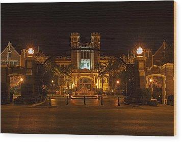 Fsu Westcott Building/ruby Diamond Auditorium Wood Print by Frank Feliciano