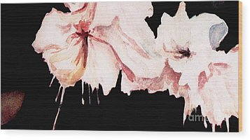 Fuchsias Wood Print by Joyce Gebauer