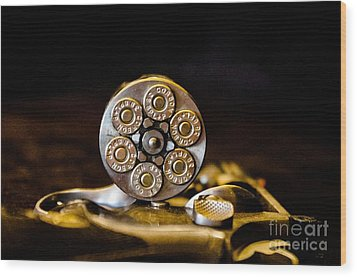 Wood Print featuring the photograph Fully Loaded by Deniece Platt