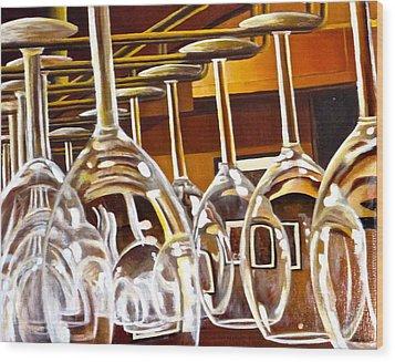 Fully Stocked Wood Print by Tim Eickmeier