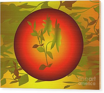 Fun In The Sun Wood Print by Gayle Price Thomas