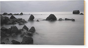 Furbo Beach Wood Print by Peter Skelton