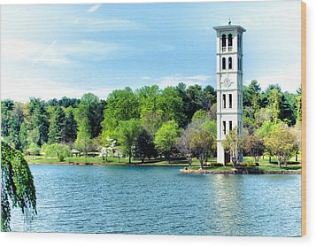 Furman Lake Wood Print