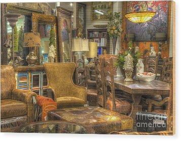 Furniture Corner Wood Print