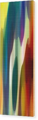 Fury Panoramic Vertical 4 Wood Print by Amy Vangsgard