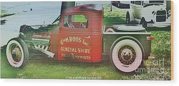 G And M Roos Inc. Wood Print by PainterArtist FIN