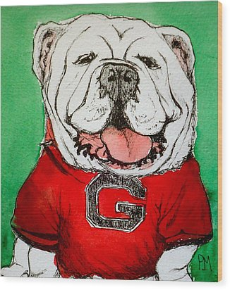 G Dawg Wood Print by Pete Maier
