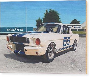 G T 350 Wood Print