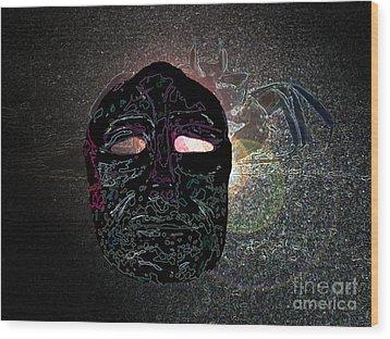 Galactic Dreams Wood Print by L T Sparrow