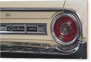 Galaxie 500 Wood Print by John Black
