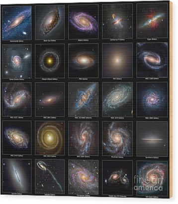Galaxy Collection Wood Print