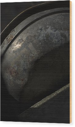 Wood Print featuring the photograph Galaxy In A Galvanized Pan by Rebecca Sherman