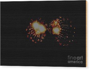 Galaxy-m Wood Print by Baljit Chadha