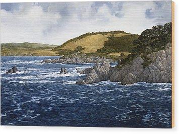 Wood Print featuring the painting Gambler's Paradise by Tom Wooldridge