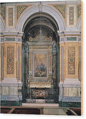 Gaolio Giovanbattista, Drawing Crotta Wood Print by Everett