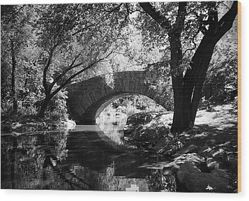 Gapstow Bridge Wood Print