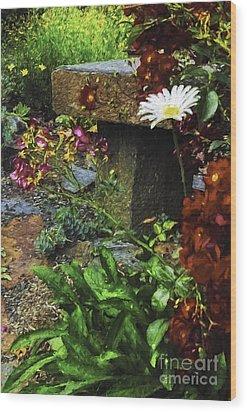 Garden Color Wood Print