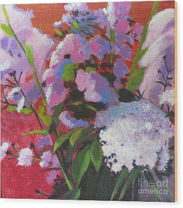Garden Gifts Wood Print by Melody Cleary