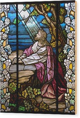 Garden Of Gethsemane Wood Print