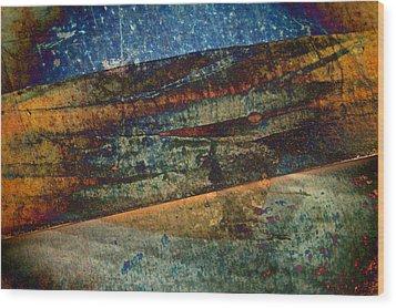 Garden Of Light Wood Print by Odd Jeppesen