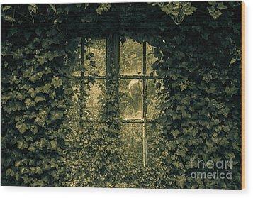 Garden Spirit Wood Print