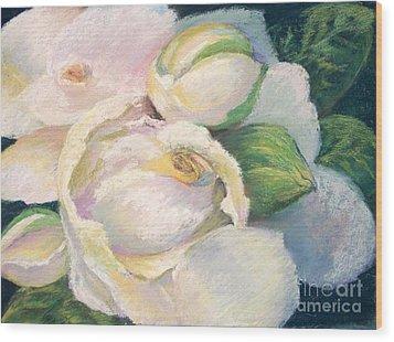 Gardenia 2 Wood Print