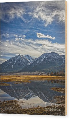 Gardnerville Nevada Wood Print