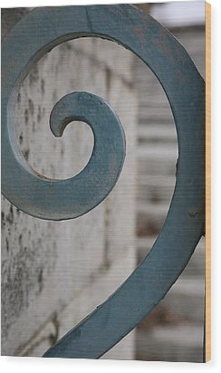 Wood Print featuring the photograph Gate Detail...versailles by Lynn England