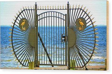 Gate To Paradise Wood Print
