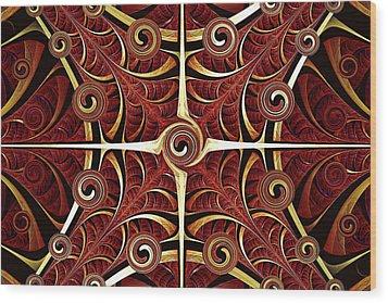 Gates Of Balance Wood Print by Anastasiya Malakhova