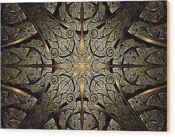 Gates Of Creation Wood Print by Anastasiya Malakhova