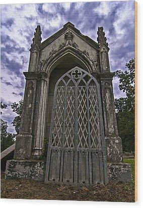 Gates Of Hades II Wood Print by Andy Crawford