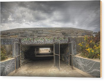 Gates To Euphoria Wood Print by Steve Gravano