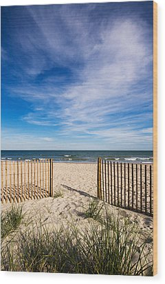 Gateway To Serenity Myrtle Beach Sc Wood Print by Stephanie McDowell
