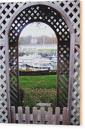 Gateway To The Sea Wood Print by Will Boutin Photos