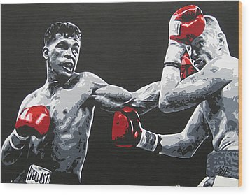Gatti Vs Ward Wood Print
