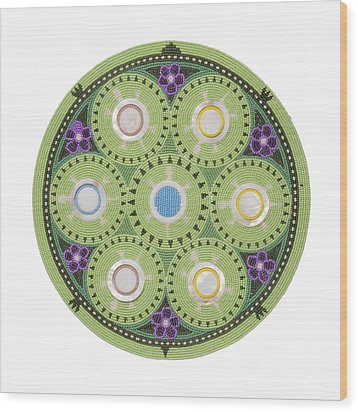 Gavino's Cradleboard Beadwork Wood Print
