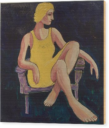 Gaye Wood Print by Clarence Major