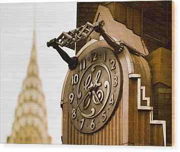 General Electric Building 2 Wood Print