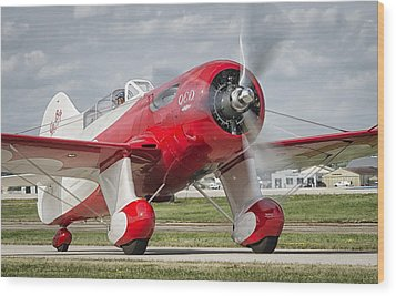 Gee Bee Taxi Wood Print