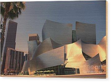 Gehry Tones Wood Print