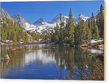 Gem Of The Sierras Wood Print by Lynn Bauer