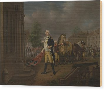General Humphreys Delivering Wood Print by Nicolas Louis Albert Delerive