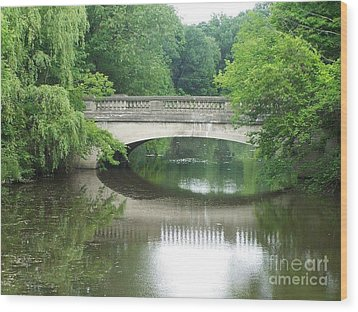 Genesee Valley Bridge Wood Print