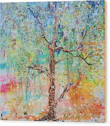 Genome Wood Print by Regina Valluzzi