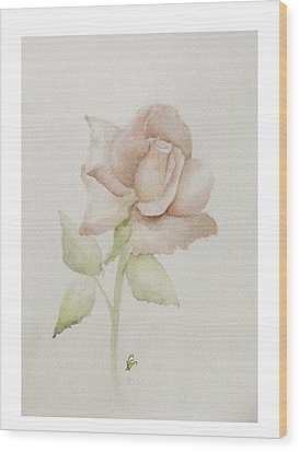 Gentle Grace Wood Print by Nancy Edwards