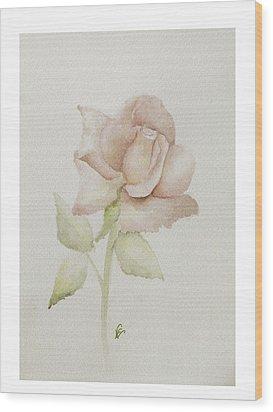 Gentle Grace Wood Print by Nancy Edwards